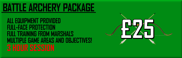 Battle Archery Package - �25