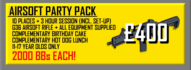 Airsoft Party Pack