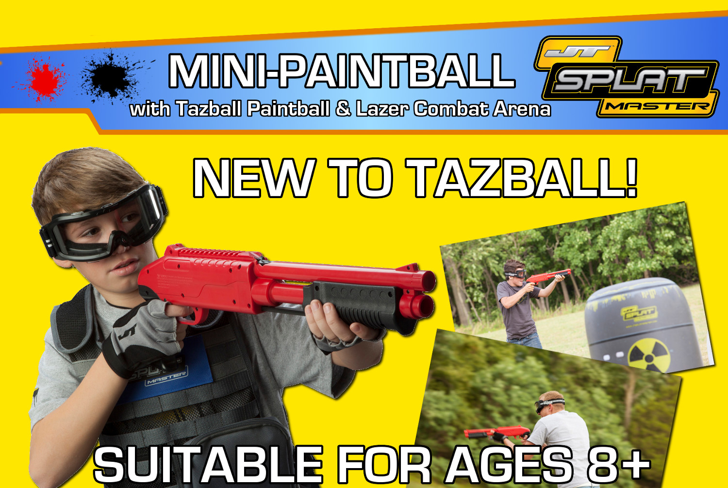 Mini-Paintball Advert