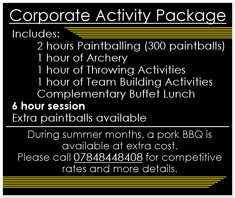 Tazball 2017 Corporate Package